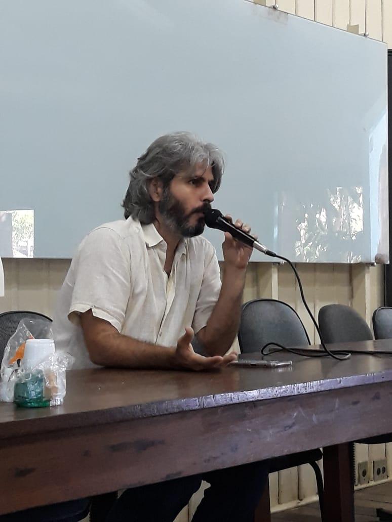 Professor Breno Imbiriba, do Instituto de Geociências da UFPA.