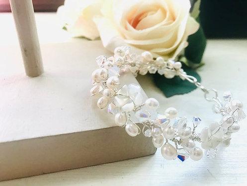 Organic handmade bracelet