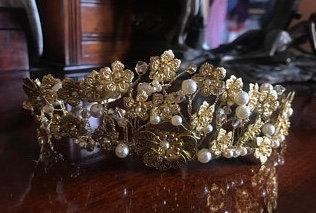 Golden Catherine Tiara