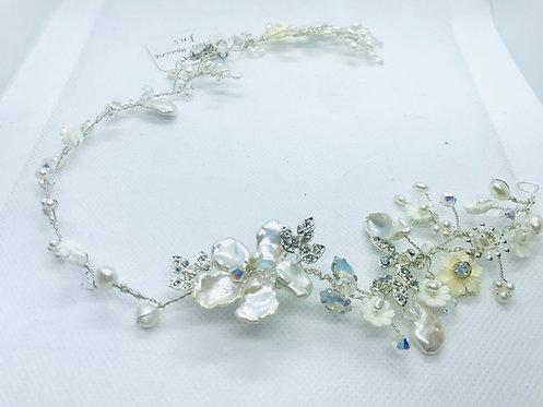 Ophelia silver hair vine