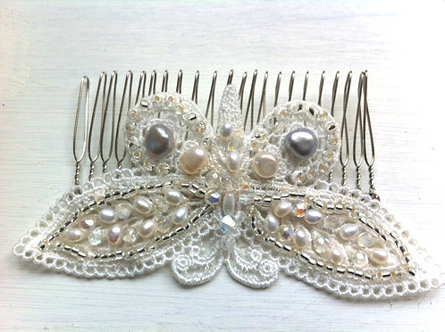 Large Butterfly comb