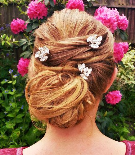 Audrey crystal hairpin