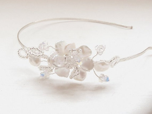 Blossom side tiara