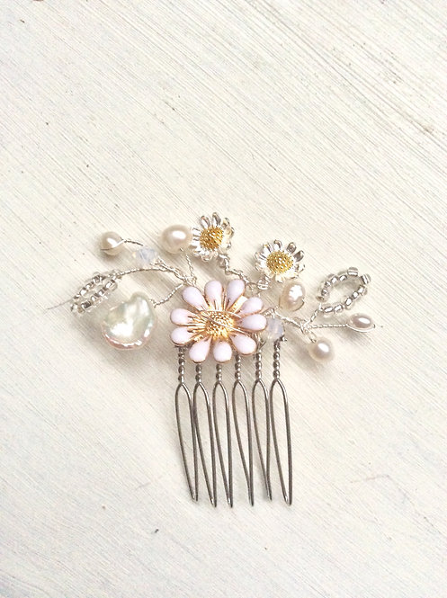 Gardenia mini comb