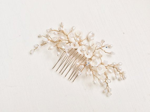 Mabel rose gold comb