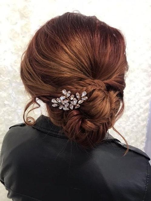Rose gold Sparkler Comb