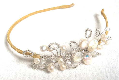 Mini Blossom side tiara