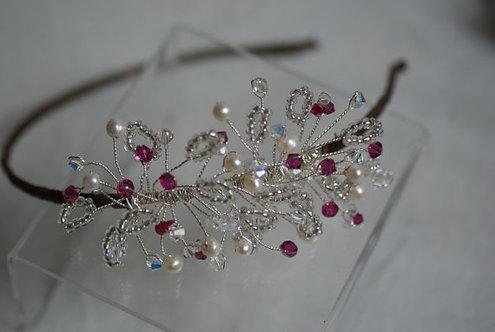 Bridemaids Lily side tiara