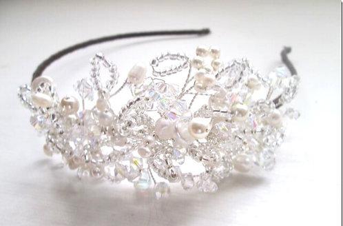 Lily side tiara