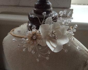 Fleur Side Headdress