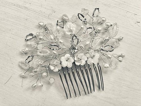 Silver Martha Comb