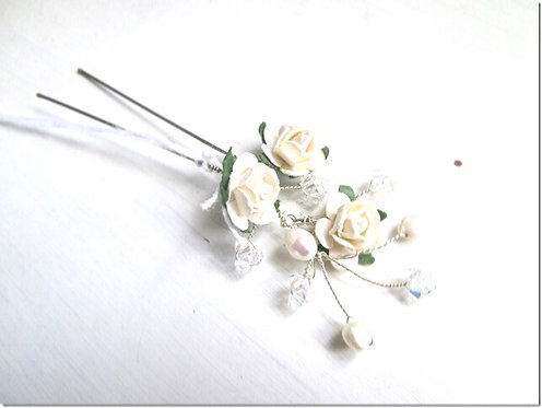 Rose hairpin