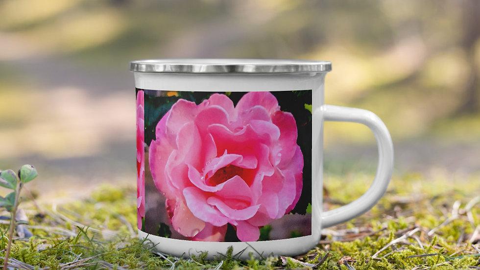 Enamel Mug - Rose