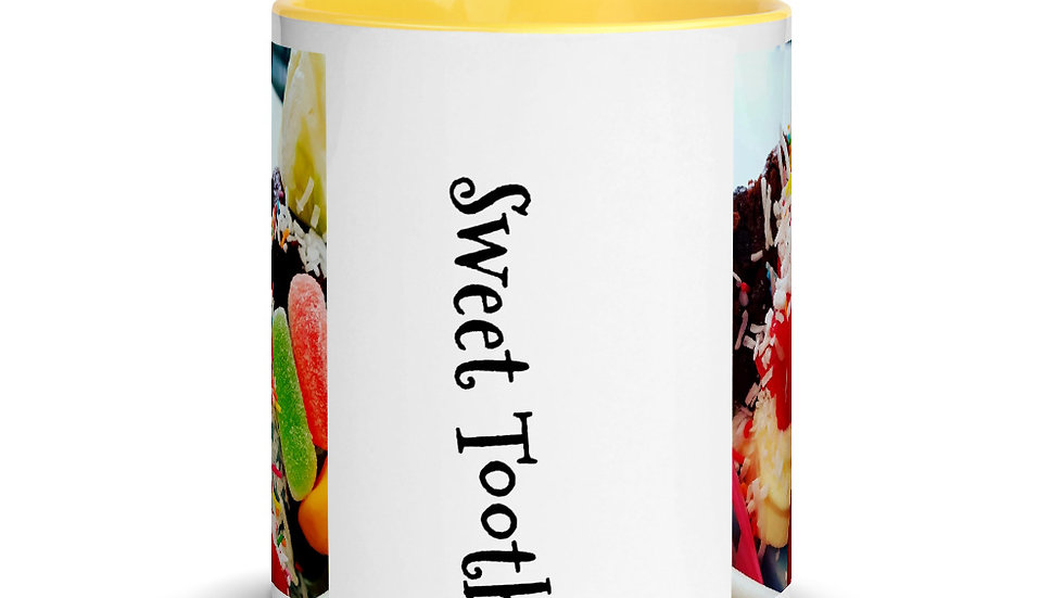 Mug with Color Inside - Sweet Tooth design