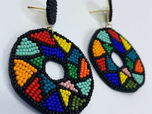 Color Block (EARRINGS)