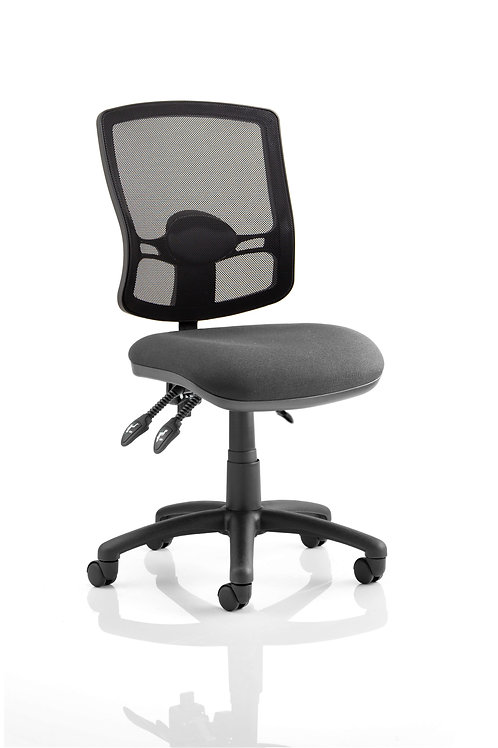 Eclipse Plus III Deluxe Mesh Back With Charcoal Seat