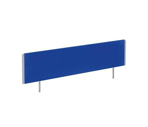 Evolve Bench Screen 1400 Blue Silver Frame