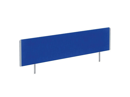 Evolve Bench Screen 1400 Blue Silver Frame