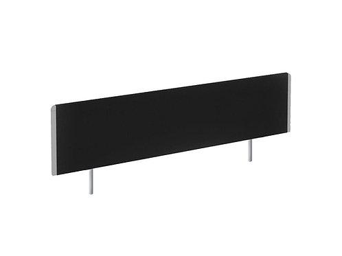Evolve Bench Screen 1400 Black Silver Frame