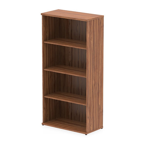 Impulse 1600 Bookcase Walnut