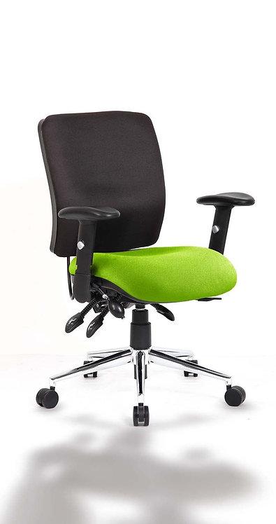Chiro Medium Back Bespoke Colour Seat myrrh Green