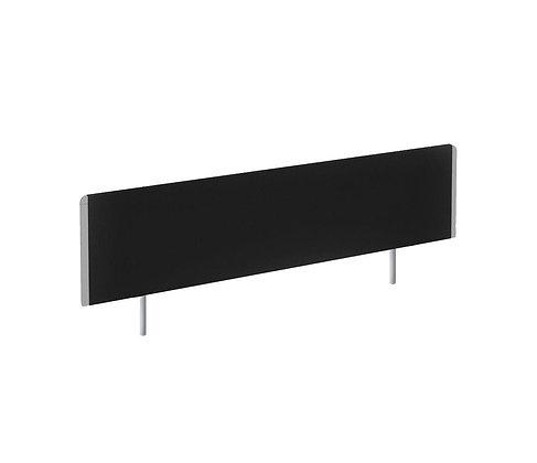 Evolve Bench Screen 1200 Black Silver Frame