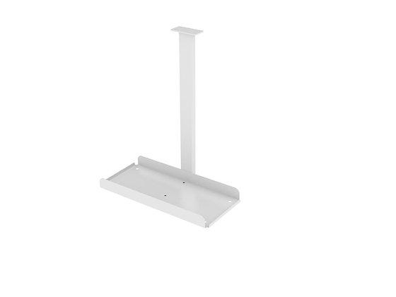 Evolve Pc Holder Desk Mounted White