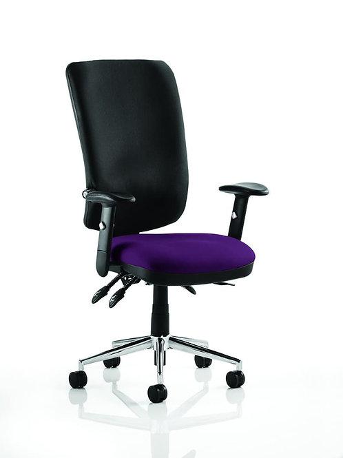 Chiro High Back Bespoke Colour Seat Tansy Purple