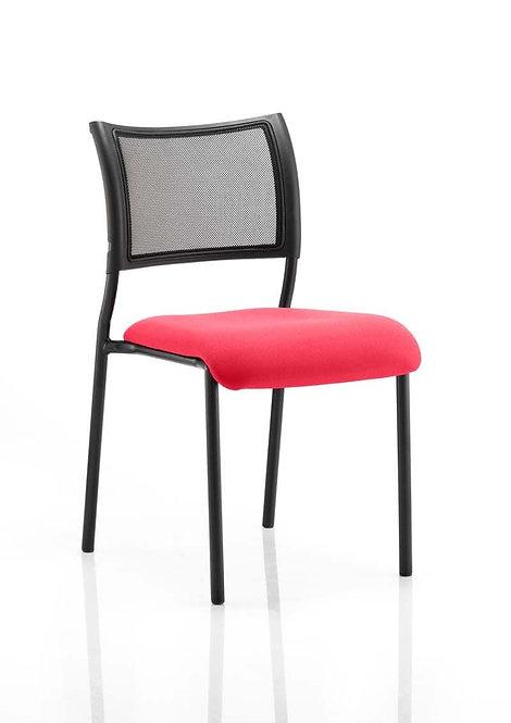 Brunswick No Arm Bespoke Colour Seat Black Frame Bergamot Cherry