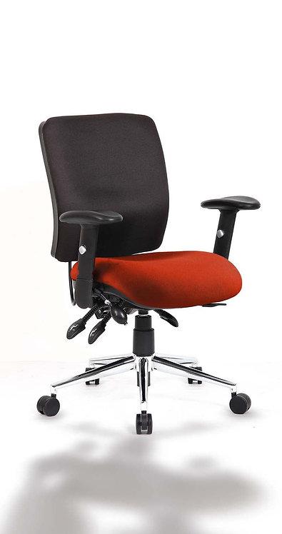Chiro Medium Back Bespoke Colour Seat Tabasco Red