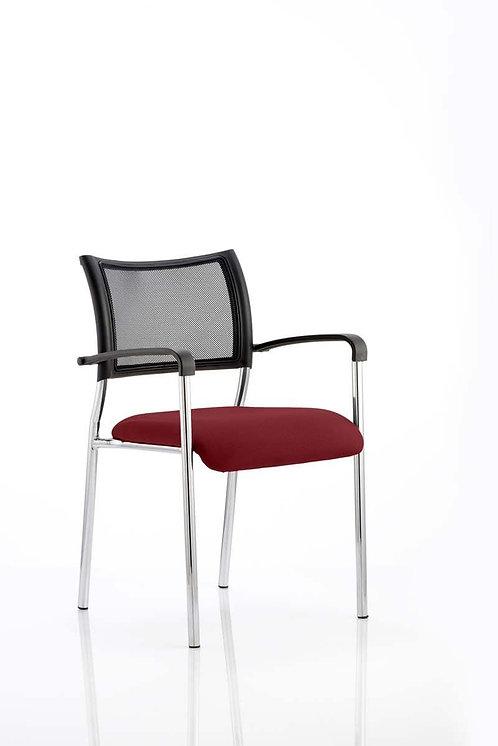 Brunswick Bespoke Colour Seat Chrome Frame ginseng Chilli