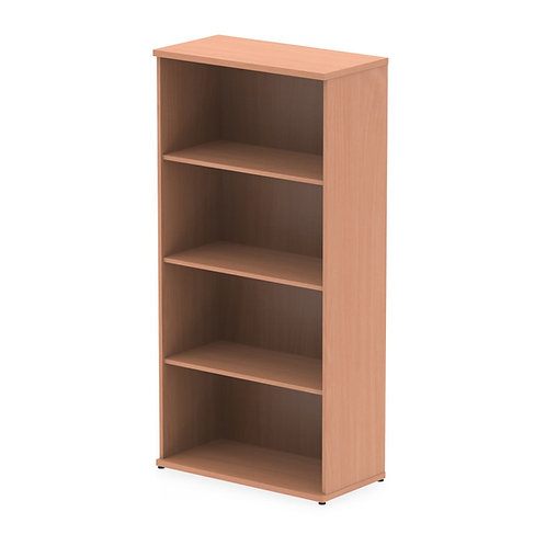 Impulse 1600 Bookcase Beech