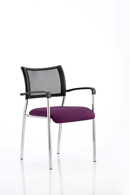 Brunswick Bespoke Colour Seat Chrome Frame Tansy Purple
