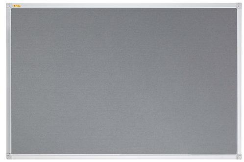 Felt Pin Board X-tra!Line� 240 x 120 CM Grey