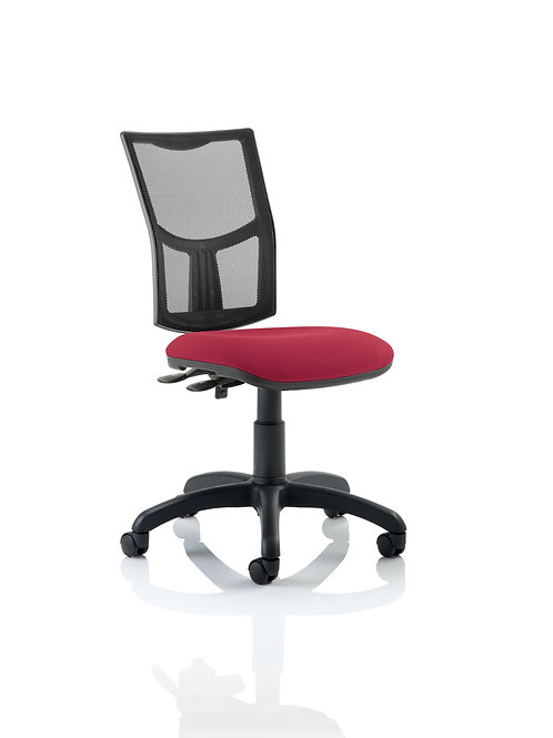 Eclipse Plus II Lever Task Operator Chair Mesh Back With Wine Seat