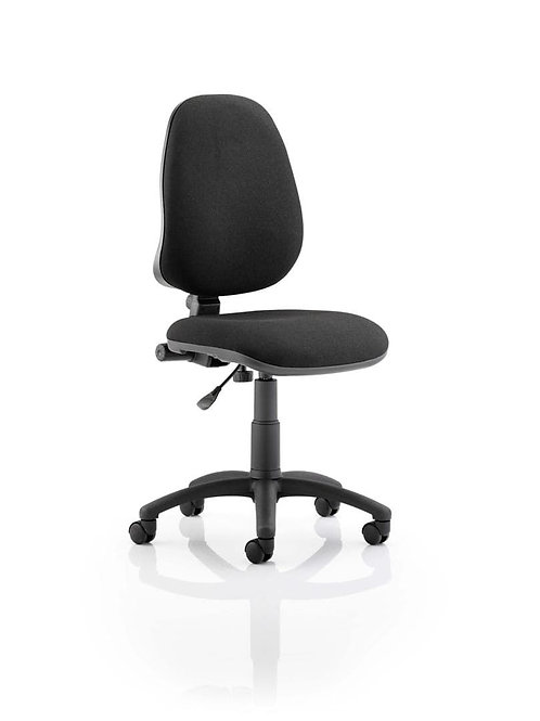 Eclipse Plus I Lever Task Operator Chair Black Without Arms