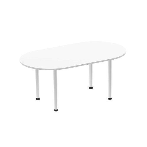 Impulse 1800 Boardroom Table White