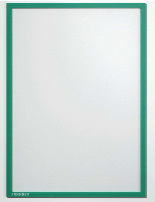 Document holder X-tra!Line� DIN A5 Magnetic Green 1 Piece