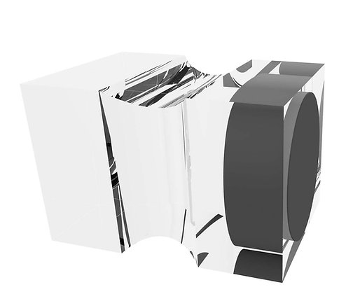 20x20x10MM Acrylic Magnet Pack 1