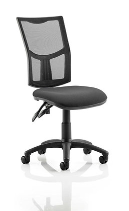 Eclipse Plus II Lever Task Operator Chair Mesh Back With Black Seat