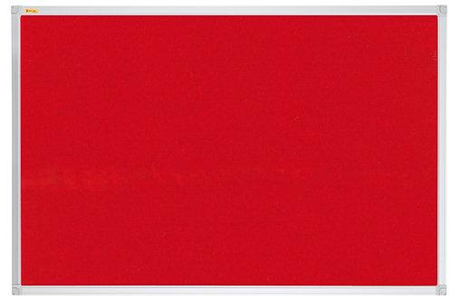 Felt Pin Board X-tra!Line� 90 x 60 CM Red