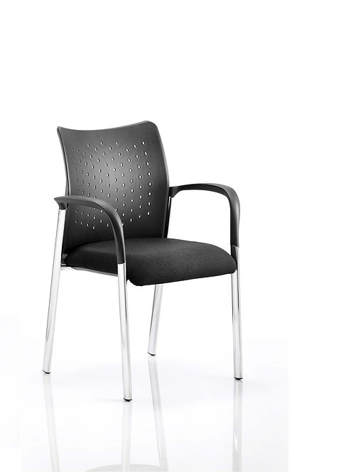 Academy Visitor Chair Black With Arms
