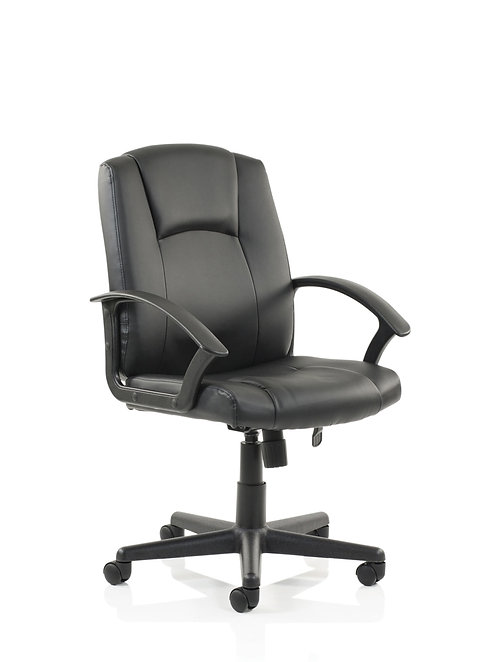 Bella Executive Managers Chair Black Leather