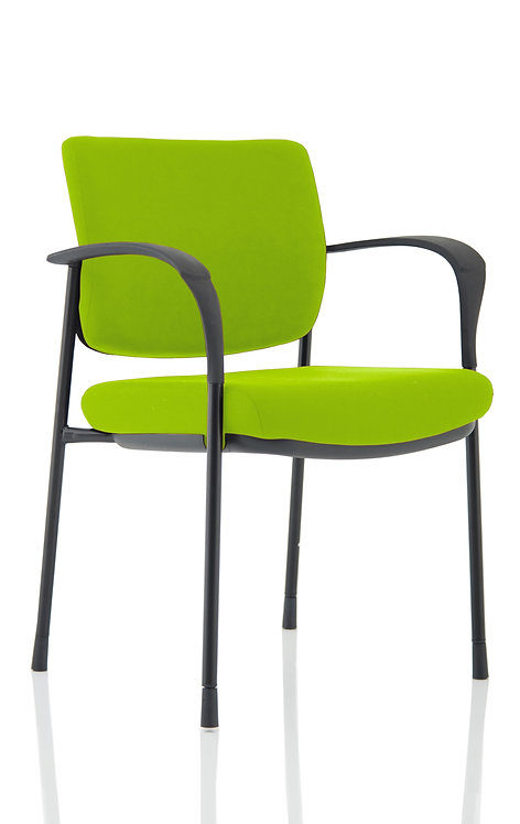 Brunswick Deluxe Black Frame Bespoke Colour Back And Seat With Arms