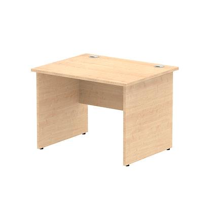 Impulse 1000/800 Rectangle Panel End Leg Desk Maple
