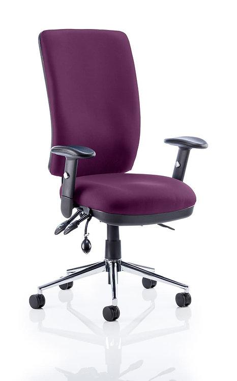 Chiro High Back Bespoke Colour Tansy Purple