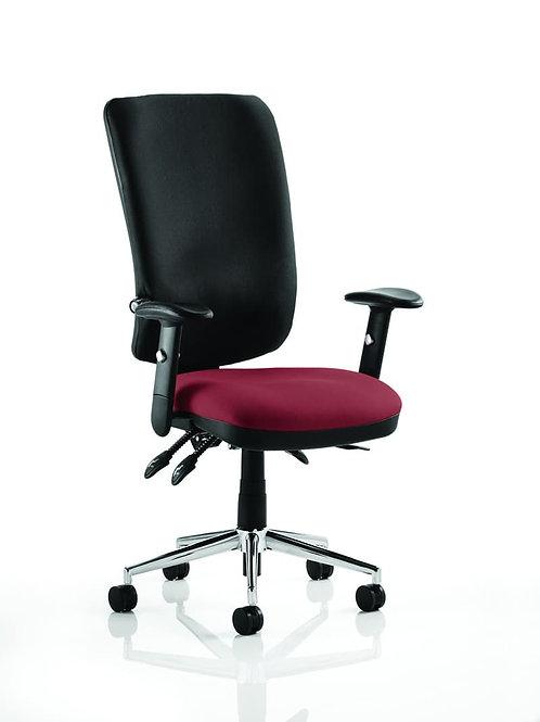 Chiro High Back Bespoke Colour Seat ginseng Chilli
