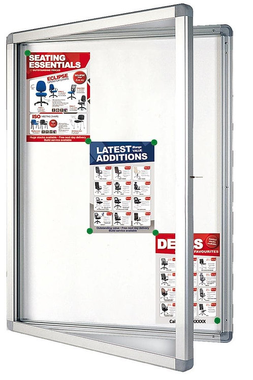 Display Case ECO Outdoor 9 x DIN A4 75 x 101.1 x 4.5 CM Magnetic