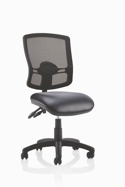 Eclipse Plus 2 Deluxe Mesh Back with Soft Bonded Leather Seat