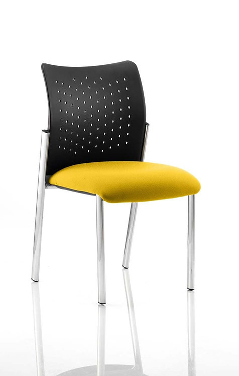 Academy Bespoke Colour Seat Without Arms Senna Yellow